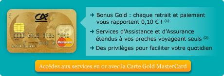 Crdit agricole de guadeloupe gold mastercard tous nos - Plafond de retrait mastercard credit agricole ...